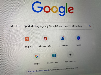 Secret Source Search