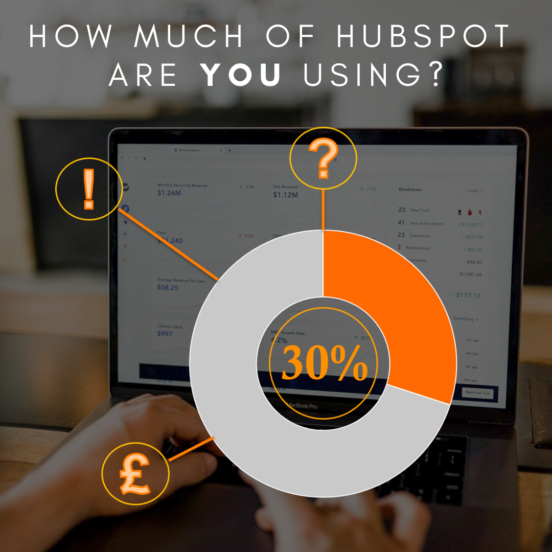 Hubspot Users Only using 20-30% of Hubspot!
