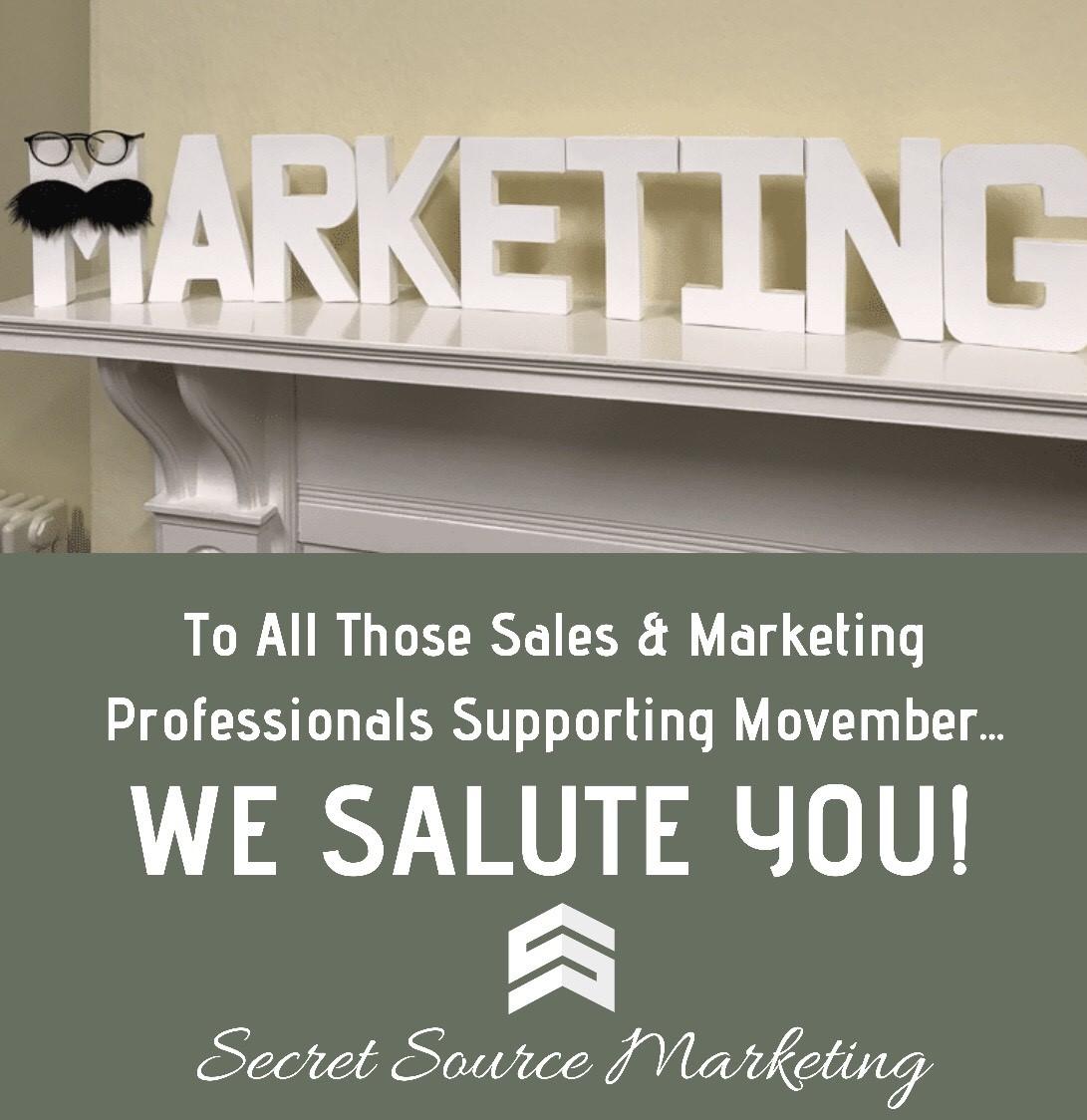 movember secret source marketing